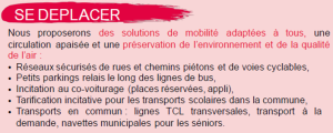 tract se déplacer